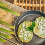 Pre surf breakfast avocado toast
