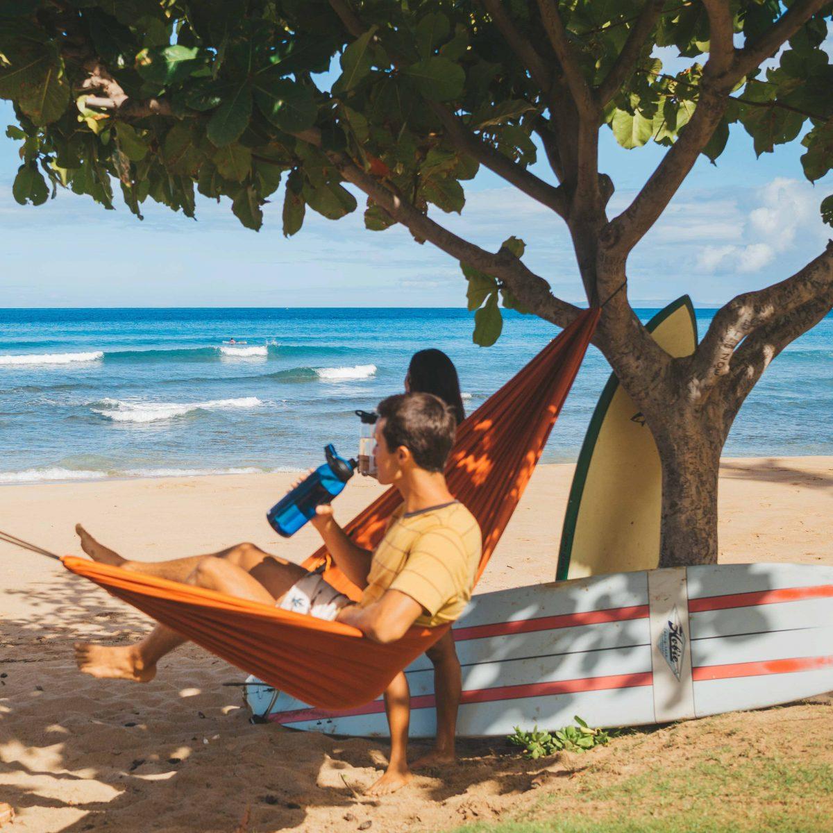 SURF CHILL BEACH HAMMOCK VAN LIFE